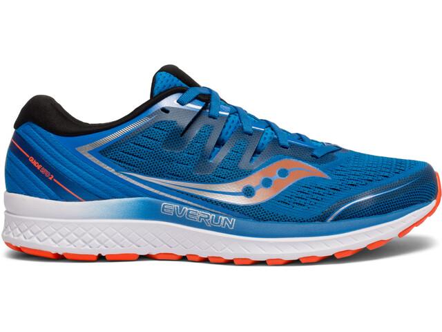 c4380b21d03 saucony Guide ISO 2 - Chaussures running Homme - orange bleu sur CAMPZ !